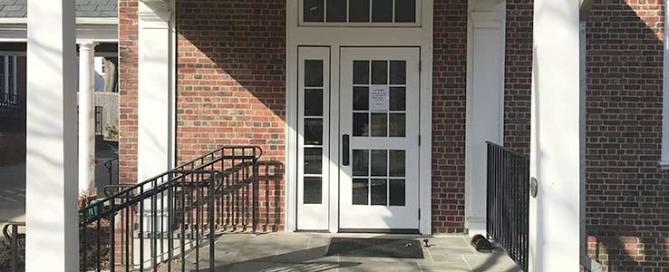 Meetinghouse Front Door