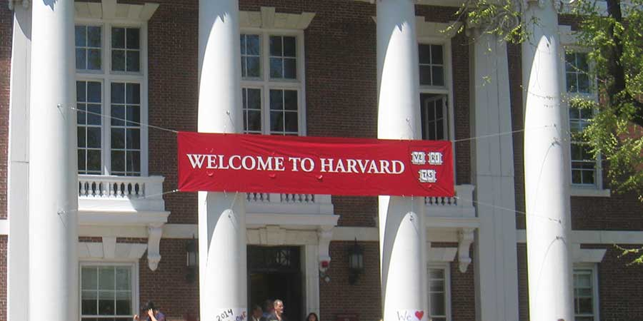 Welcome Harvard