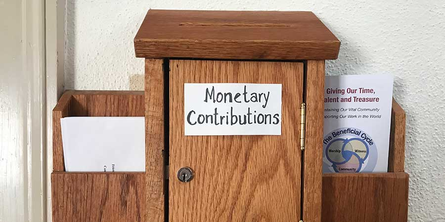 Money contributions