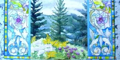 Mary Coelho watercolor