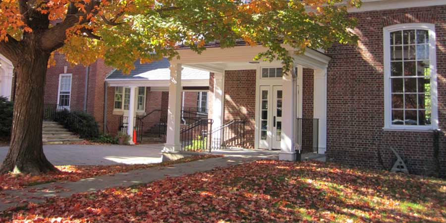 meetinghouse fall entrance