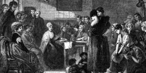 Elizabeth Fry at Newgate Prison