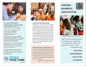 Friends Women's Association Brochure