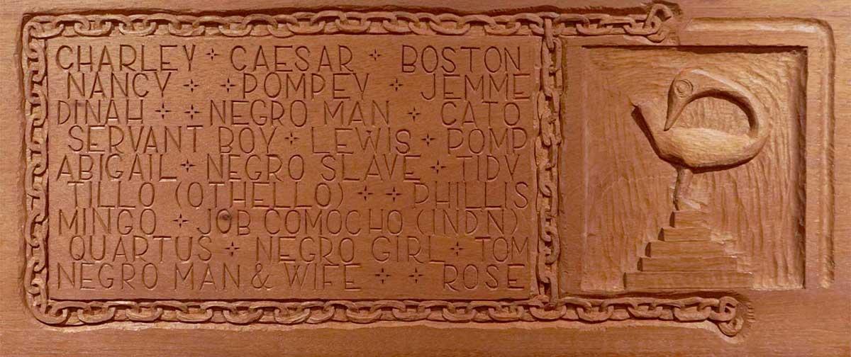 Enslaved People 1600s Newton