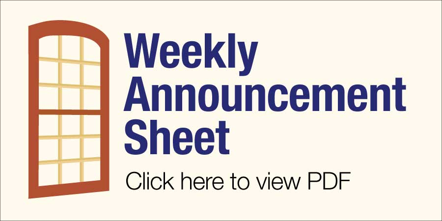 Announcement Sheet Tile